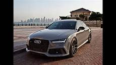 2017 audi rs7 sportback 1 of 1 special order nardo gray interior details launch etc