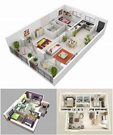 25 more 2 bedroom 3d floor 10 awesome two bedroom apartment 3d floor plans