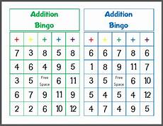 addition bingo worksheets 8794 printable addition bingo mamas learning corner