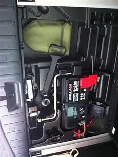 E83 Wof 252 R Ist Der Hebel Im Kofferraum