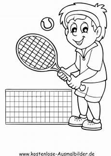 Malvorlagen Zum Drucken Spielen Ausmalbilder Sportlich Ausmalbild Tennis Spielen