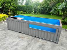 Container Als Pool - shipping container pools