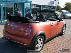 2007 mini one convertible pepper car photo and specs