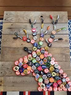 Basteln Mit Flaschendeckeln - hubby and i made this cap deer bottle cap crafts