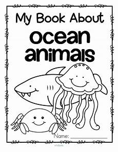 sea animals worksheets for preschoolers 14123 set of 12 activity pages about animals jellyfish octopus dolphin fish seahorse shark