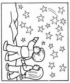 noche de estrellas dibujalia dibujos colorear elementos y objetos del entorno el