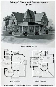 vintage victorian house plans 1903 free classic queen anne william radford
