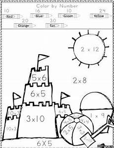 multiplication color by number worksheets 4th grade 16335 multiplication color by number with images multiplication free classroom printables