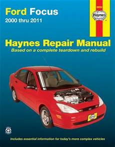 service and repair manuals 2000 ford focus instrument cluster 2000 2011 ford focus haynes repair manual