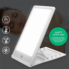 Modes Therapy Light Phototherapy Daylight Affective sad therapy light 3 modes seasonal affective disorder