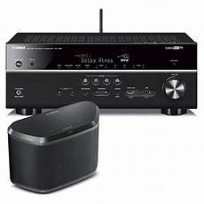 yamaha rx v681 7 2 channel 4k av receiver with wx 030