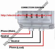 electrical technology how to wire a single phase kwh meter digital or analog energy meter