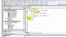for next loop with dates excel vba youtube