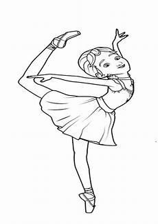 Ballerina Malvorlagen Ballerina 7 Ausmalbilder Malvorlagen