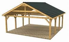 Wooden Carports And Garages Wood Frame Carport Designs