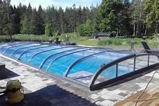abris de piscine bas abri de piscine plat bas mi haut r 233 sidentiel adoss 233