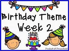 preschool birthday theme worksheets 20265 birthday theme week 2 engaging literacy counting motor and activities pocket