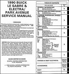 service and repair manuals 1990 buick electra lane departure warning 1990 buick lesabre electra park avenue shop manual 90 original repair service ebay
