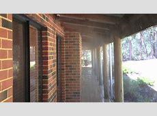 Bushfire Sprinkler System   under eave sprays   YouTube