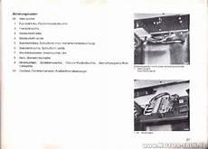 t1 mercedes 207 d sicherungskasten elektrikproblem
