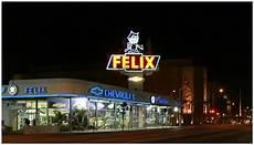 vintage chevrolet dealership neon sign felix the cat neon chevrolet dealership showroom