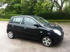 Kia Picanto Schwarz - used kia picanto car 2009 black petrol 1 1 chill 5 door