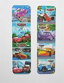 Disney Cars 2pcs Cardboard Bookmarks 65 Lenght 16cm