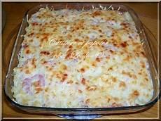 gratin de pate jambon 92678 les meilleures recettes de gratin de pates et jambon