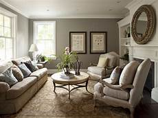 grey blue living room tan creme furniture white trim gold accents paint colors for living