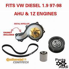 engine timing belt kit water pump rollers fits vw diesel 1 9 ahu 1z eng ebay