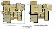 two story house plans with walkout basement stunning 15 images 2 story floor plans with basement
