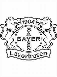 Ausmalbilder Fussball Leverkusen Turn Und Sportverein Bayer 04 Leverkusen Disegni Da