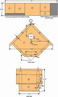 wren house plans how to build a birdhouse modern farmer bird house plans