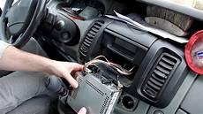 Montage Autoradio Renault Trafic 2 Version Tuner List Et