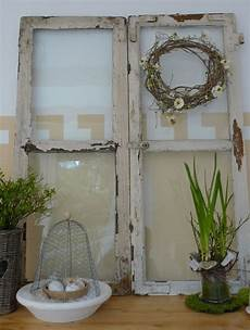 Fenster Als Deko - shabby fenster als dekoration seasons alte fenster