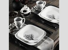 Corelle Square 16 Piece Dinnerware Set & Reviews   Wayfair