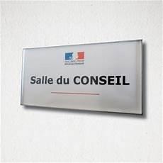 plaque de porte signal 233 tique personnalisable bureaux