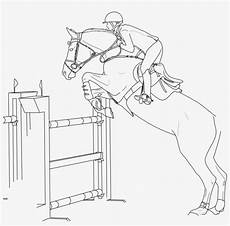 show jumping pages coloring pages