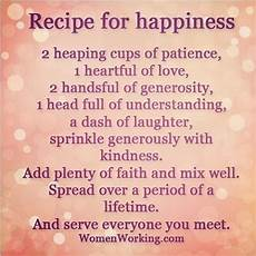 recipe for happiness pictures photos and images for