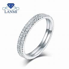 cheap wedding bands with two rings in 0 56ct natural