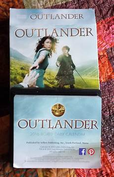 Outlander Calendar Giveaway Closed Outlander Tv News
