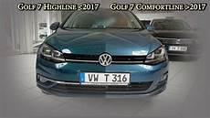 golf vii facelift vw golf 7 update facelift ab 2017 highline dla led front