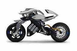 Oto Yamaha MOTORiD Concept  Pierwszy Motocykl Sterowany