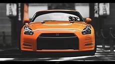 Orange Gtr Wallpaper