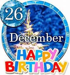 Birthday Horoscope December 26th Capricorn Persanal