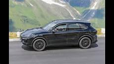 New Porsche Cayenne 2017 Spied Testing On Roads