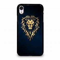 World Of Warcraft Alliance Iphone Xr Cover Dengan