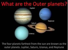 inner and outer planets of the solar system power point lesson tpt