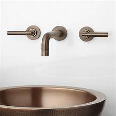 Waschbecken Armatur Wandmontage - triton wall mount bathroom faucet lever handles bathroom