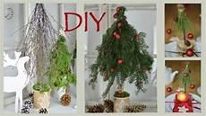 Diy Weihnachtsdeko Selber Machen B 228 Ume Aus Zweigen Und